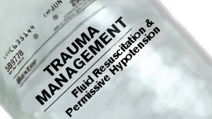 Trauma Management: Fluid Resuscitation & Permissive Hypotension
